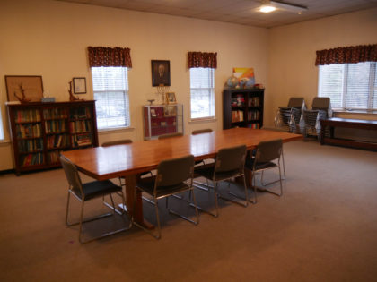 board room style meeting room