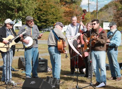 Folk musicians