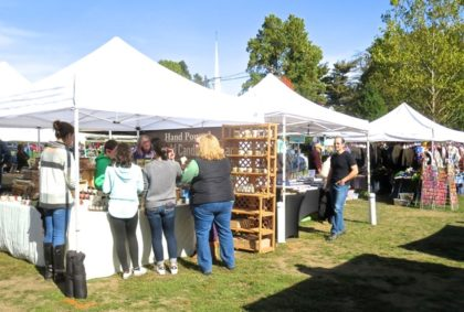 Craft booths