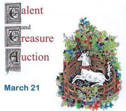 Talent & Treasure Auction is Live!